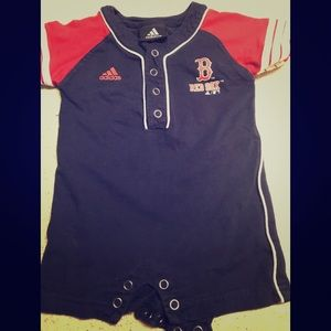 Red Sox baby Romper